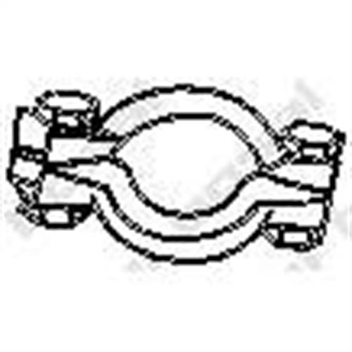 Крепление глушителя BOSAL 251001