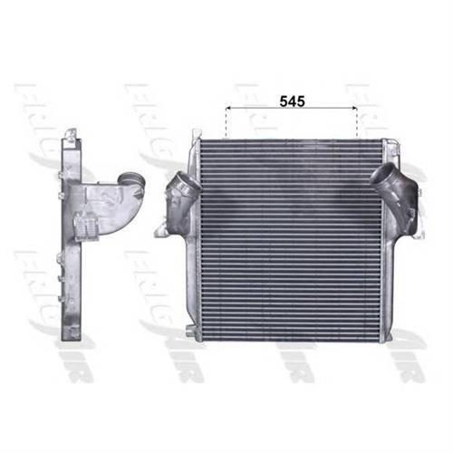 Охладитель воздуха промежуточный для Mercedes-Benz actros --04.97 FRIGAIR 07063006