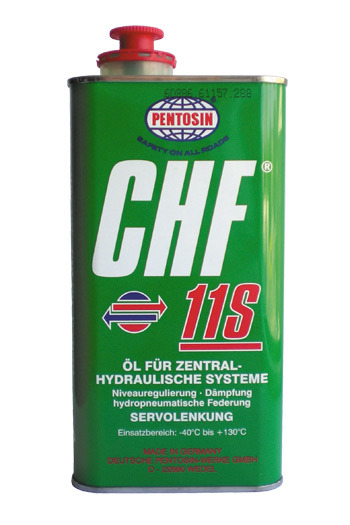 Pentosin CHF 11S Оригинальная жидкость ГУР 1л (132391000101009,83290429576) зеленая