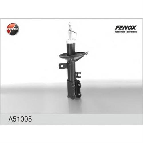 Амортизатор передний левый газовый Kia Shuma/Spectra Rus 1.6/1.8 01 FENOX A51005